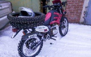 Резина на мотоцикл урал: как поставить шипованные грязевые колеса
