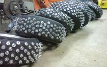 Дошиповка зимних шин своими руками: ошиповка зимней резины без пневмопистолета