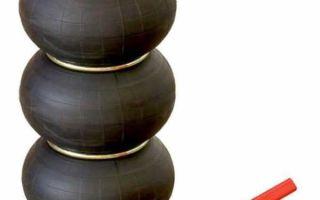 Пневматический домкрат автомобильный: подкатные надувные модели для внедорожника