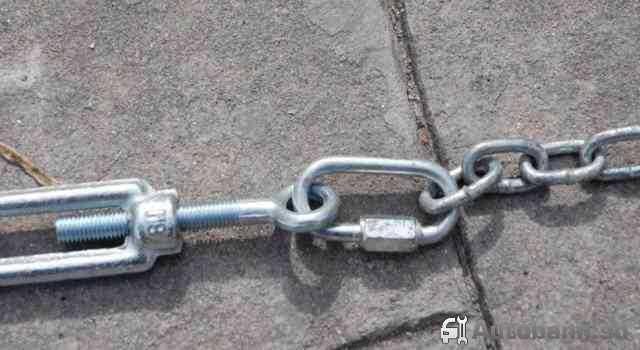 Цепи на колеса для легкового автомобиля, резиновые цепи противоскольжения на УАЗ