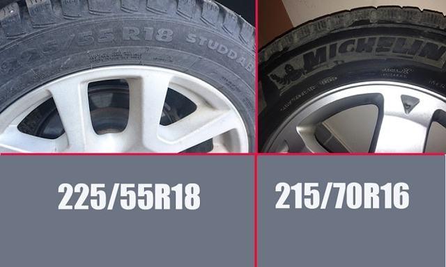 Размер колес Митсубиси Аутлендер 3: зимняя резина на mitsubishi outlander xl