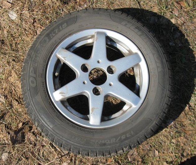 Резина на Оку: как поставить колеса на 13 дюймов, размер зимних шин на Оку