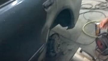Защита арок колес: чем обрабатывают арки заднего колеса от шума и ржавчины