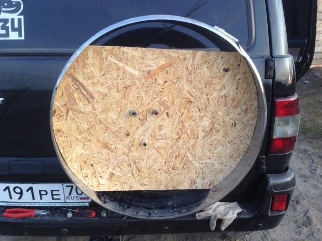 Чехол на запасное колесо на УАЗ Патриот, чехол на запаску для Шевроле и Паджеро