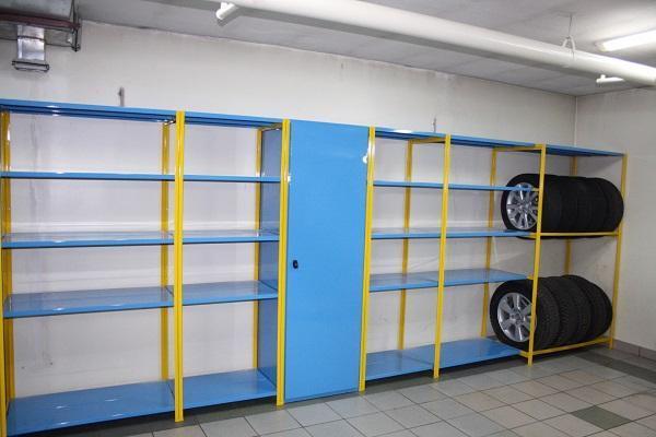 Как хранить резину без дисков: хранение зимних колес в гараже своими руками