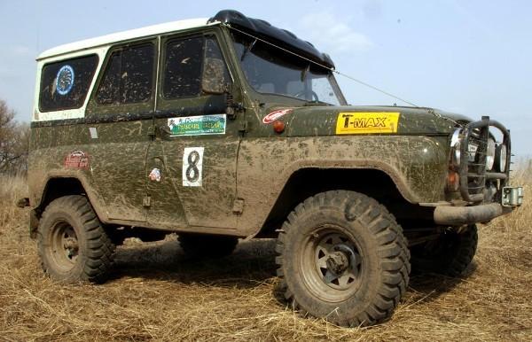 Колесная база УАЗ 469: размер зимней резины, давление в колесах на УАЗ 469