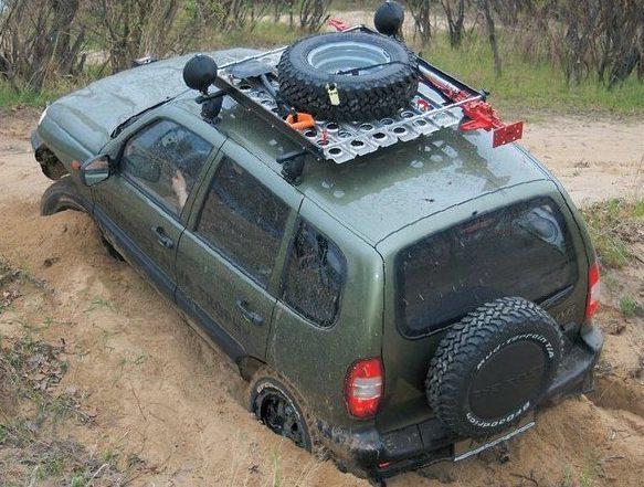 Грязевая резина на Ниву Шевроле: внедорожние шины 205 75 15, колеса АТ и МТ