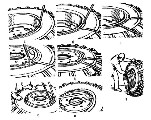 Колесо ЗИЛ 131: размер шин на ЗИЛ 132, как разбортировать арочные колеса ЗИЛ 130