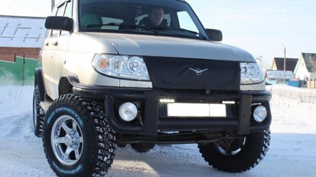 Разболтовка УАЗ Патриот, параметры разболтовки колес на УАЗ 469 и Хантер