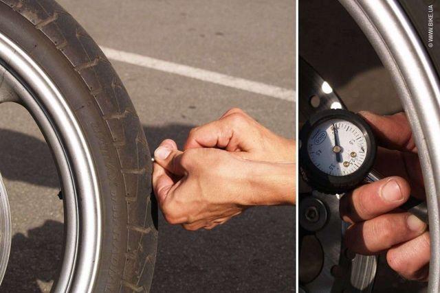 Резина на мотоцикл: давление в кроссовых мотоциклетных шинах, их балансировка