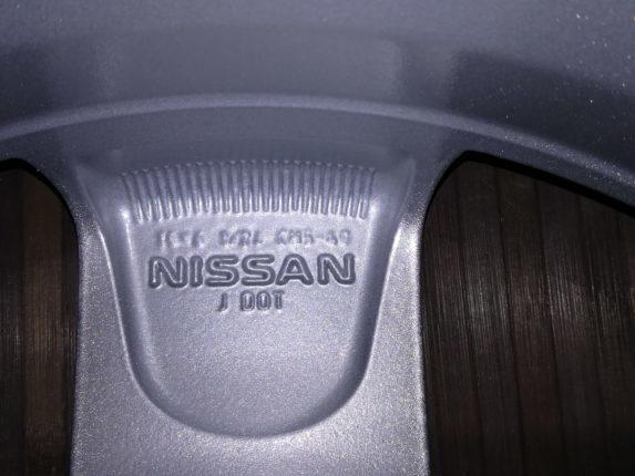 Диски на Ниссан Ноут: литые оригинальные диски с радиусом 16 на nissan