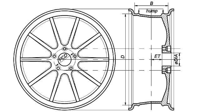 Диски Цивик 4д 16 радиус, параметры и размеры дисков на honda (Хонда) civic 4d