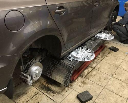 Зимняя резина на 15 на Фольксваген Поло Седан: размер шин volkswagen polo sedan