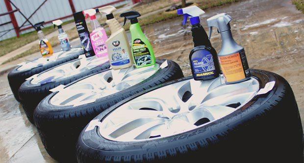 Очиститель колесных дисков: средство для очистки автомобильных дисков от налета