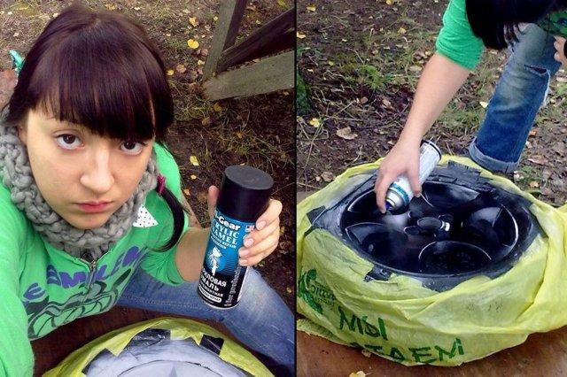 Покраска дисков своими руками, как покрасить колесные диски из баллончика
