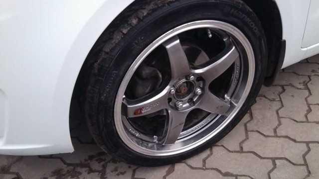 Диски на Киа Рио: параметры колесных шин и литых дисков на kia rio 15 радиус