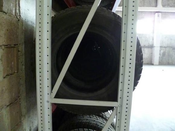 Стеллаж для колес и дисков, подвесной стеллаж для хранения шин в гараже