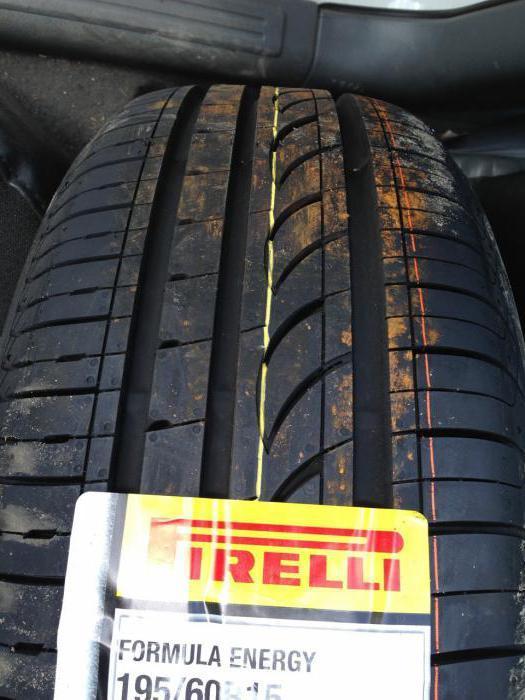 Резина Формула Энерджи (formula energy): кто производитель шин Пирелли 185 65 15