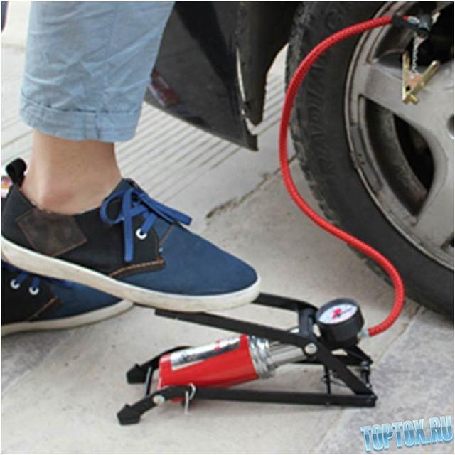 Насос для автомобильных шин: о насосе для подкачки колес от прикуривателя
