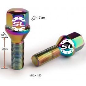 Болт колесный: для литых, штампованных и хромированных дисков иномарок
