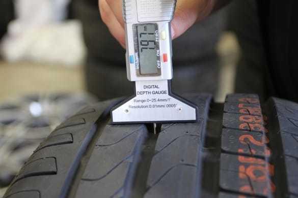 Высота протектора новых зимних шин: остаточная высота протектора зимней резины