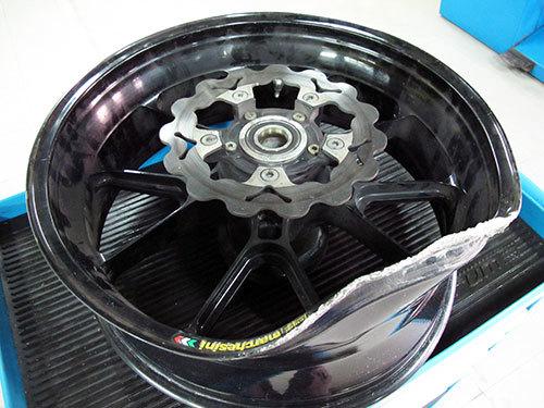 Мото диски: правка и ремонт литых спицованных дисков на мотоцикл Иж и Урал