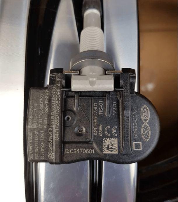 Давление в шинах Киа Рио Х-Лайн, датчики давления в колесах kia sportage 4